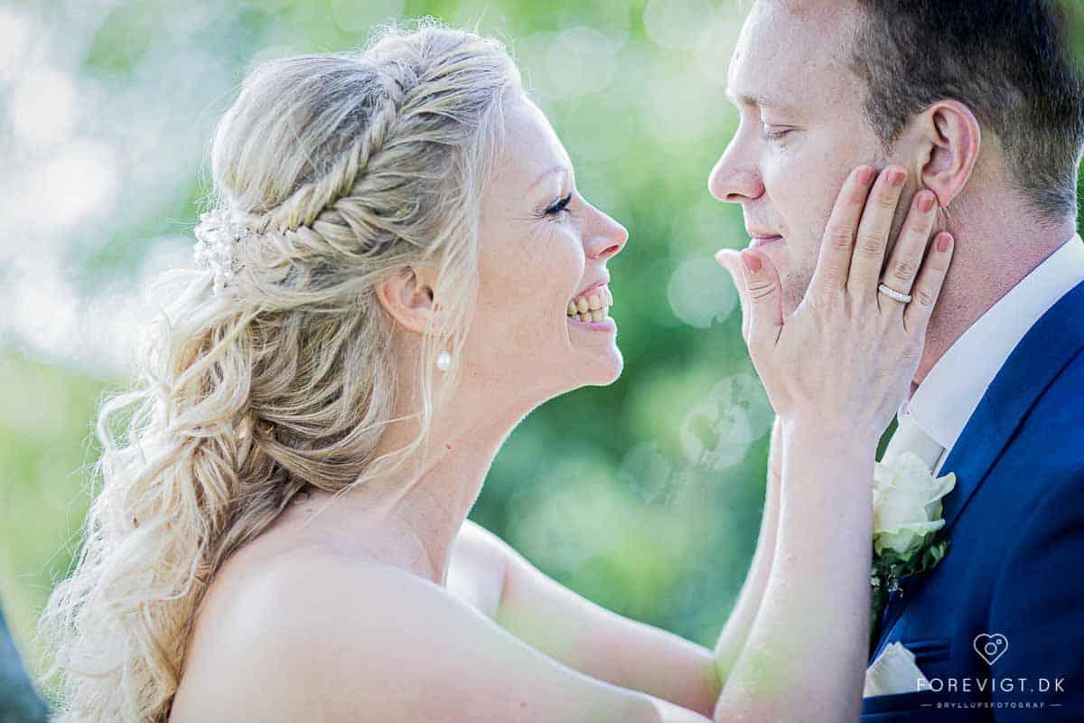bryllupsfotografier af bryllup kalundborg