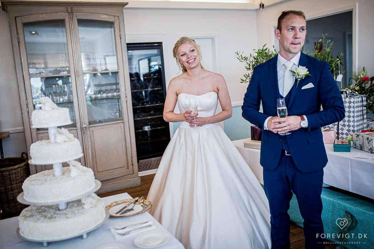 bryllupsfoto af bryllup kalundborg