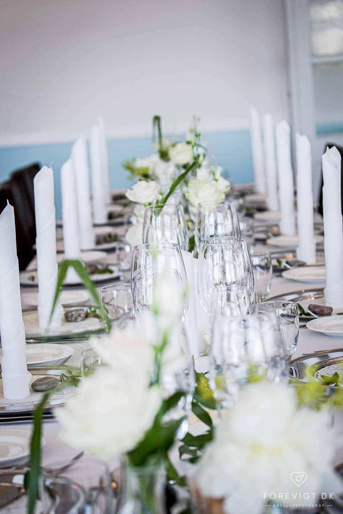 Restaurant Gisseløre - Menu til bryllup