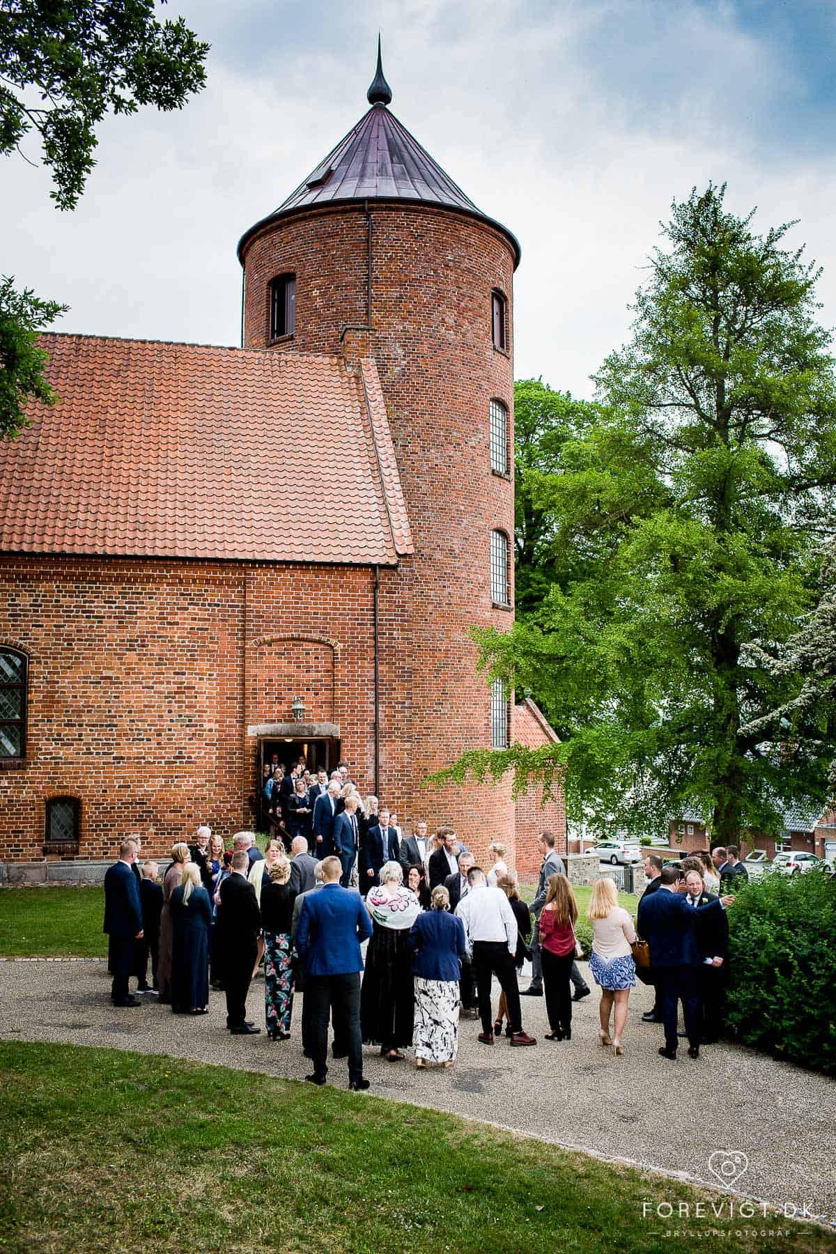 Bryllupsfotografering i Skanderborg og Østjylland
