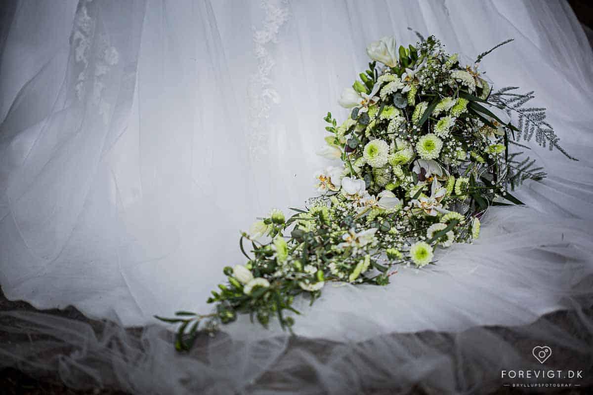 Bryllupsfotografering i Skanderborg