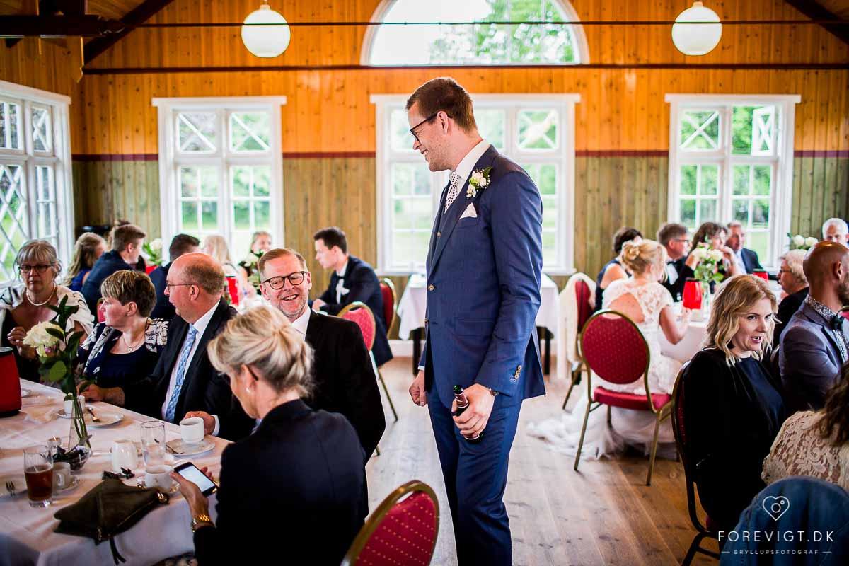 Restaurant Vestermølle bryllup