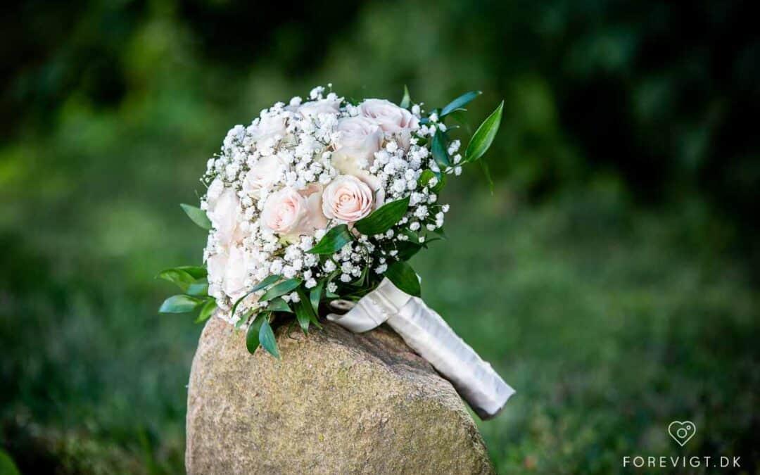 Bryllup i haven