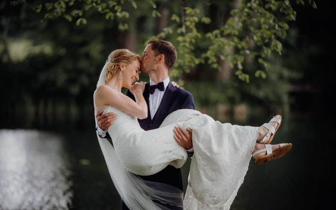 Bryllup på Broholm slot Fyn