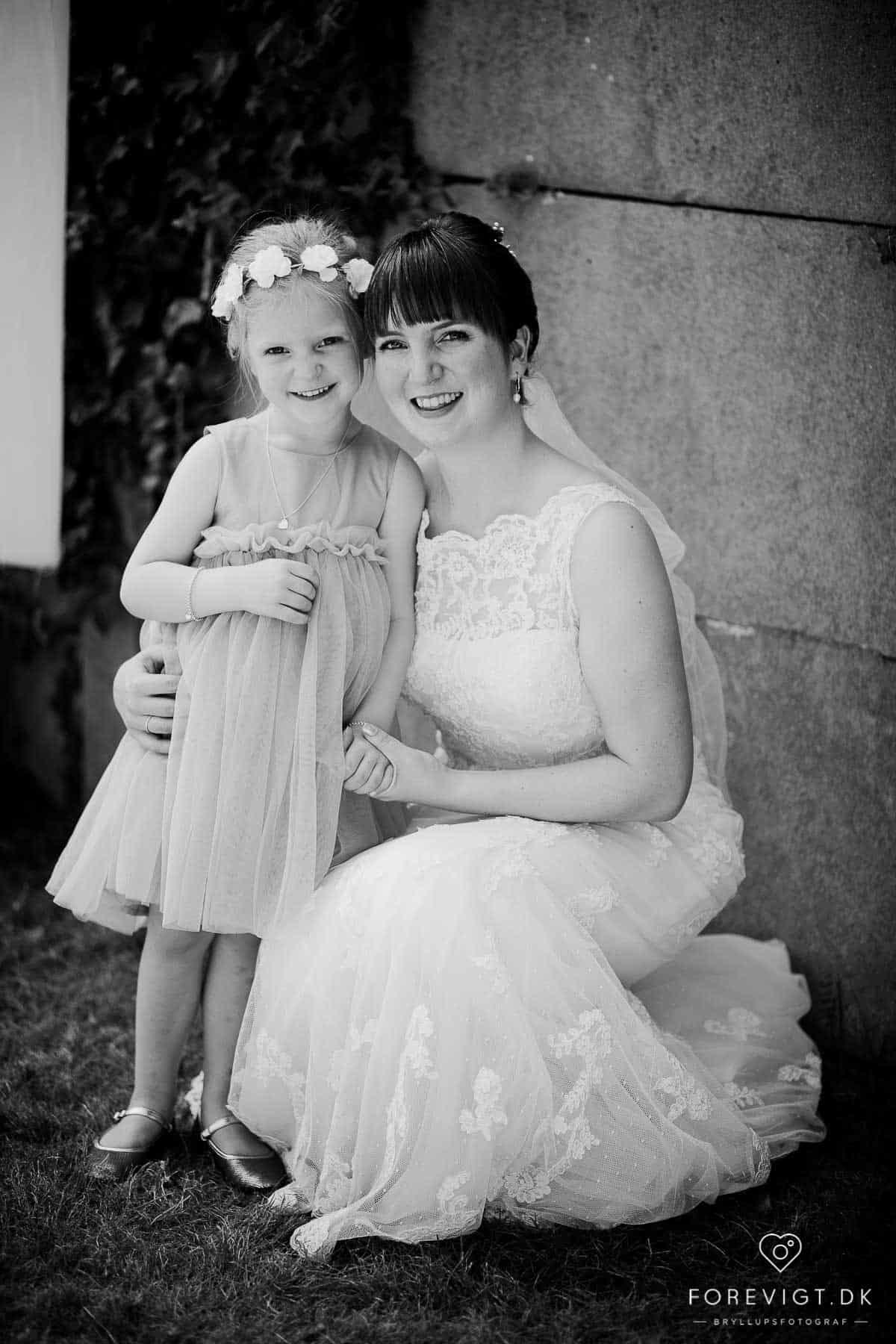 Bryllupsfotografering i Syddanmark