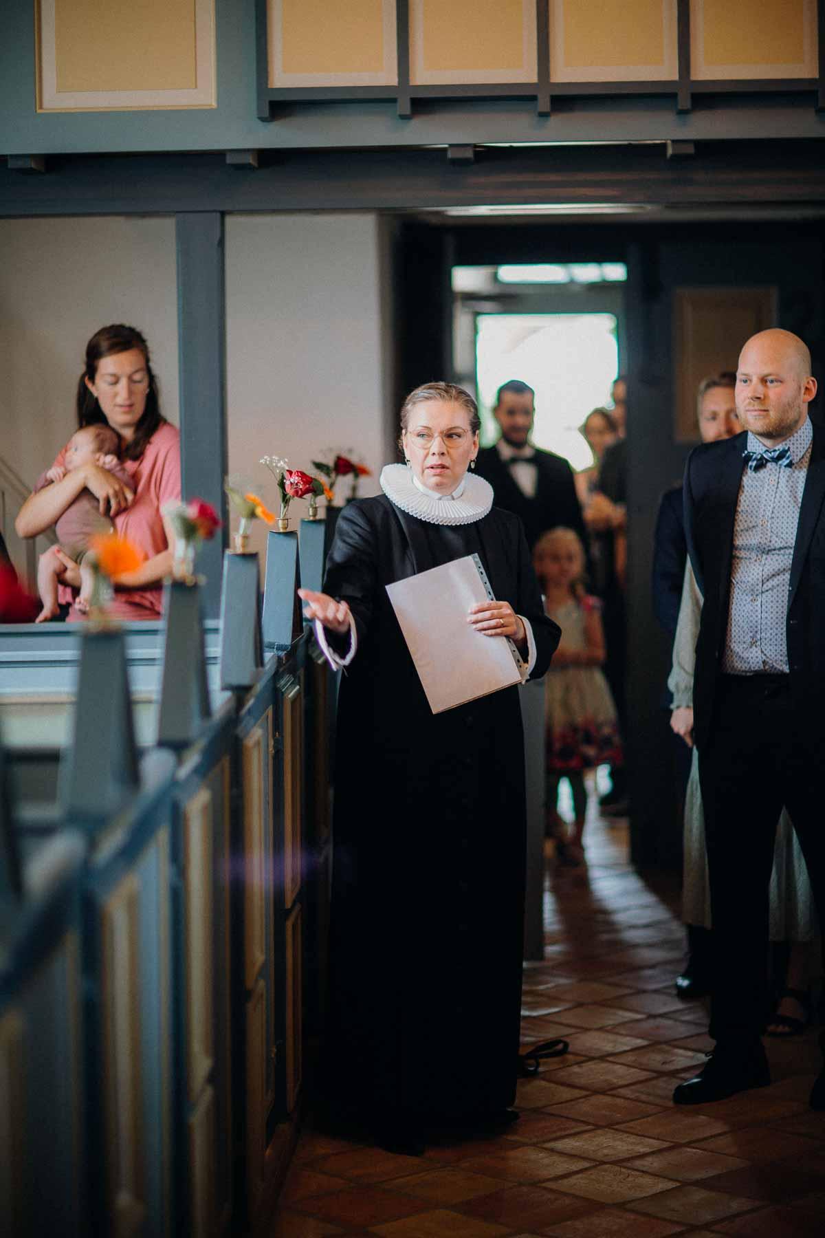 Præst i Sejling kirke