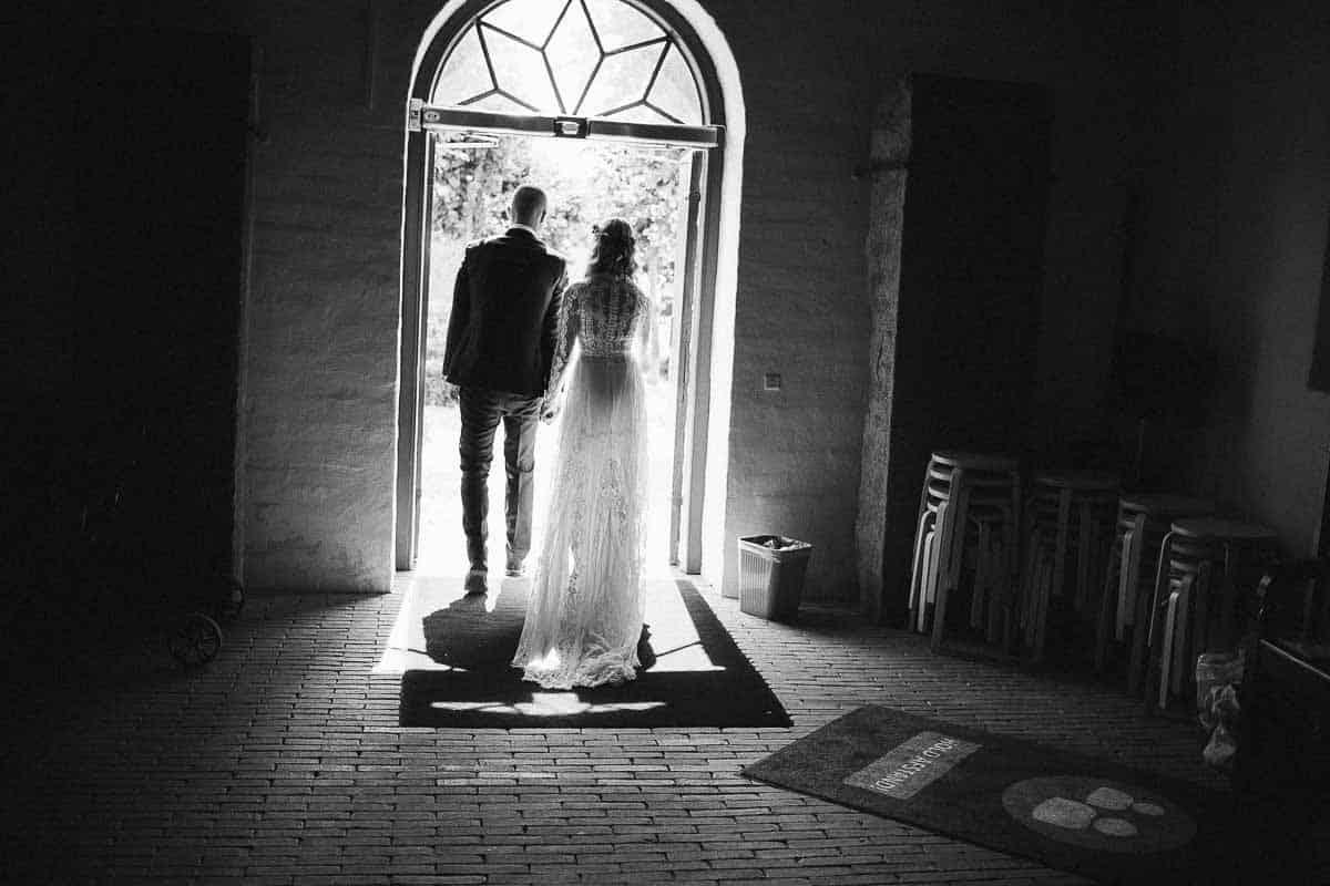 Romantisk bryllupsarrangement i Østjylland nær Aarhus
