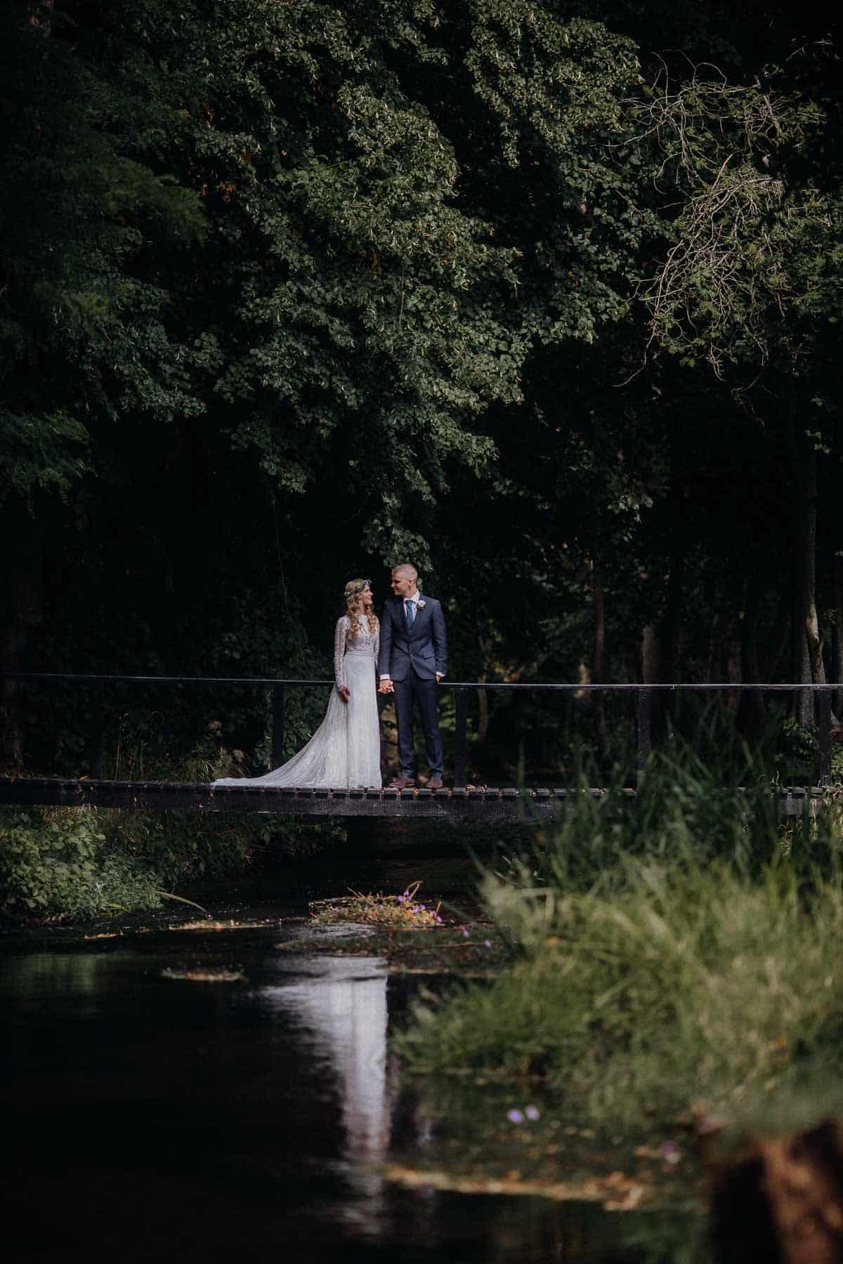 bryllupsbilleder Harlev Mølle