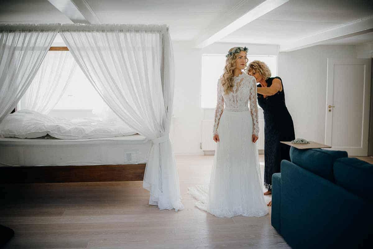 brudens forberedelse Harlev Mølle