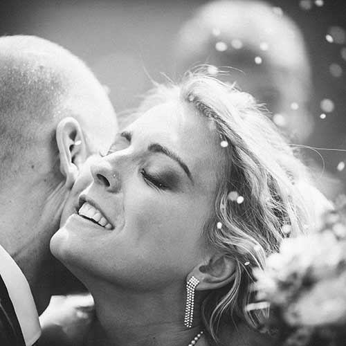 Personlige bryllupsfoto
