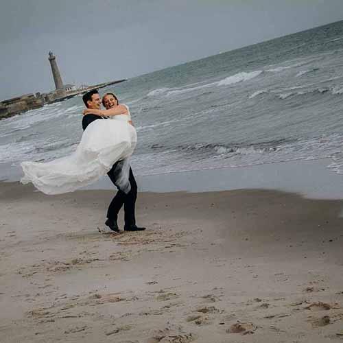 Skagen bryllup detaljerne