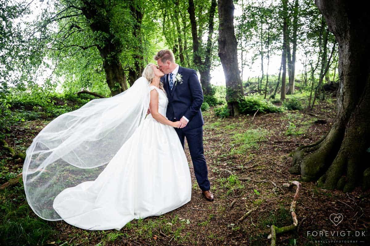 bryllupsfoto af parret