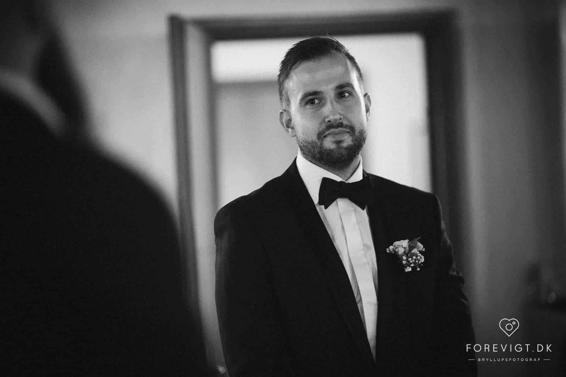 kreative bryllupsbilleder fra Borre Knob
