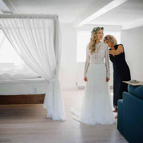 bryllup detalje