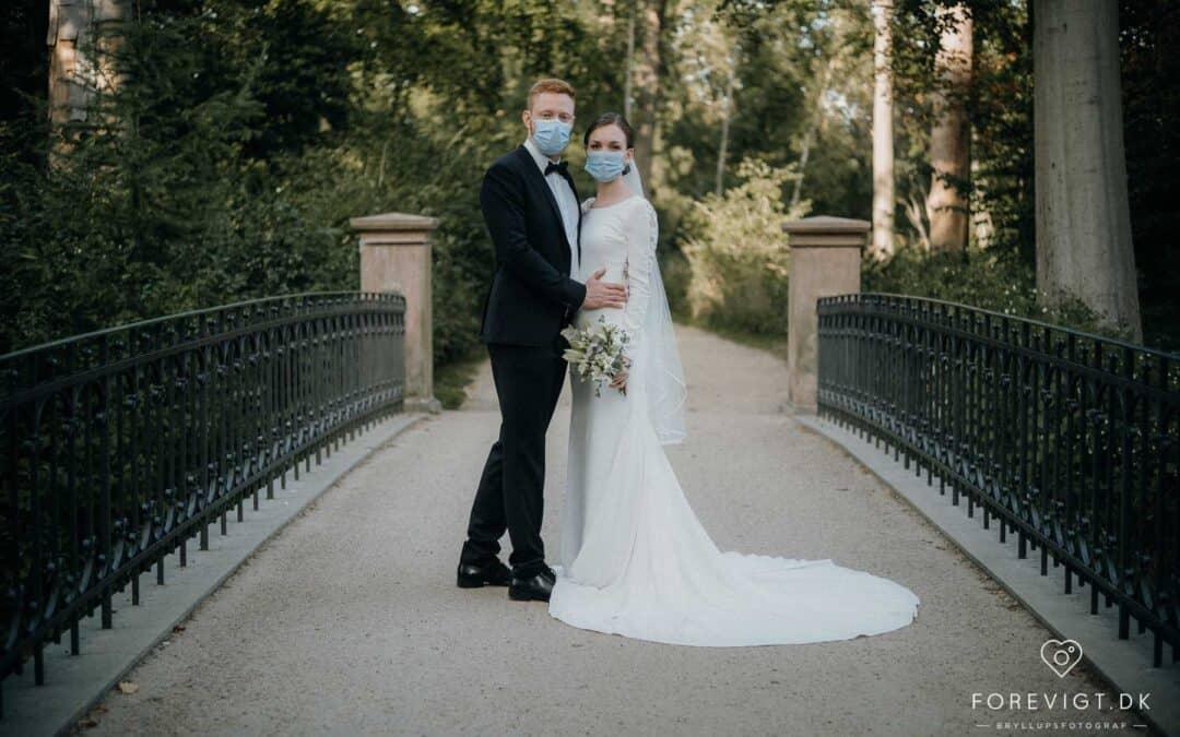Bryllupsbilleder Frederiksberg have