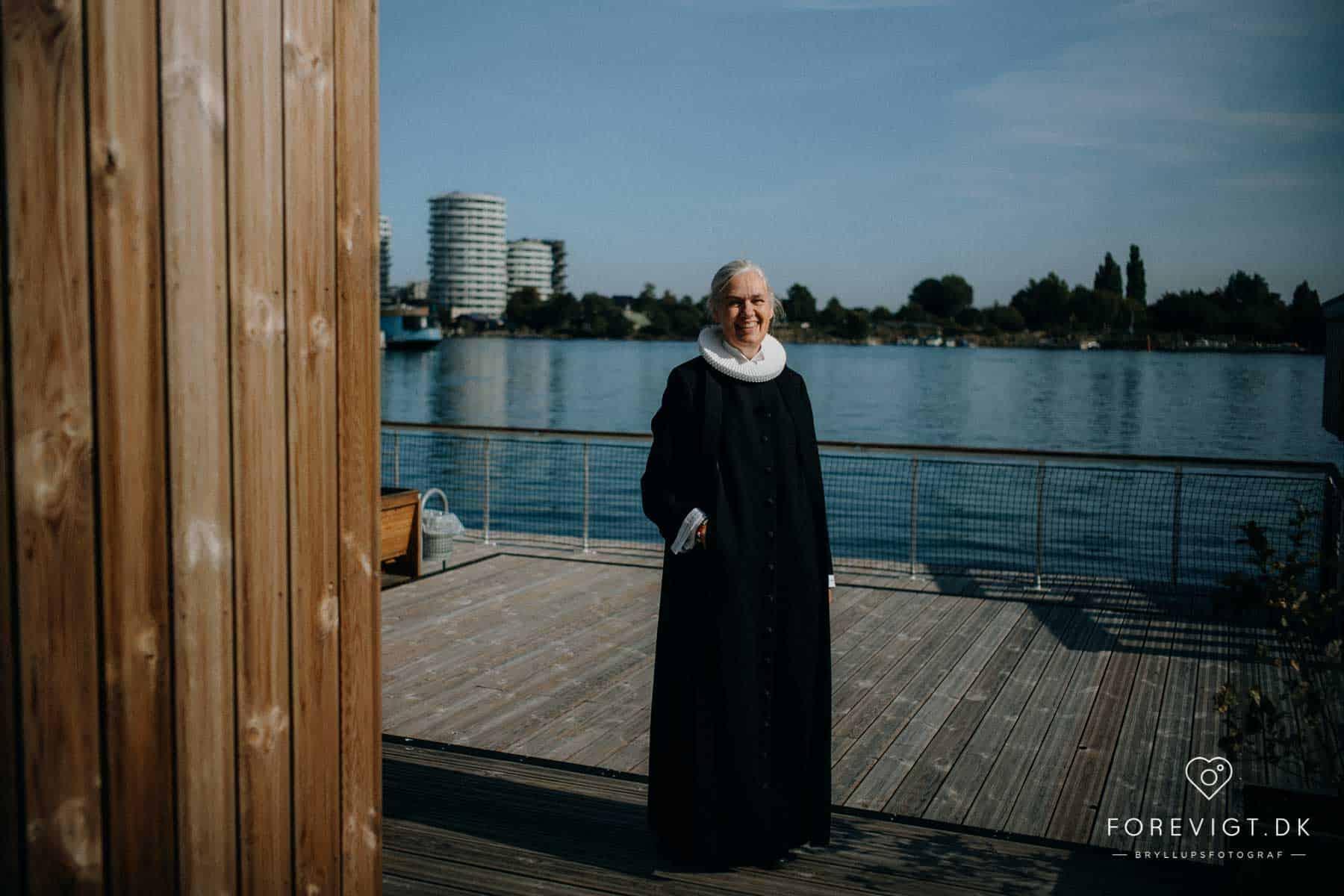 præst på Kirkeskibet KBH