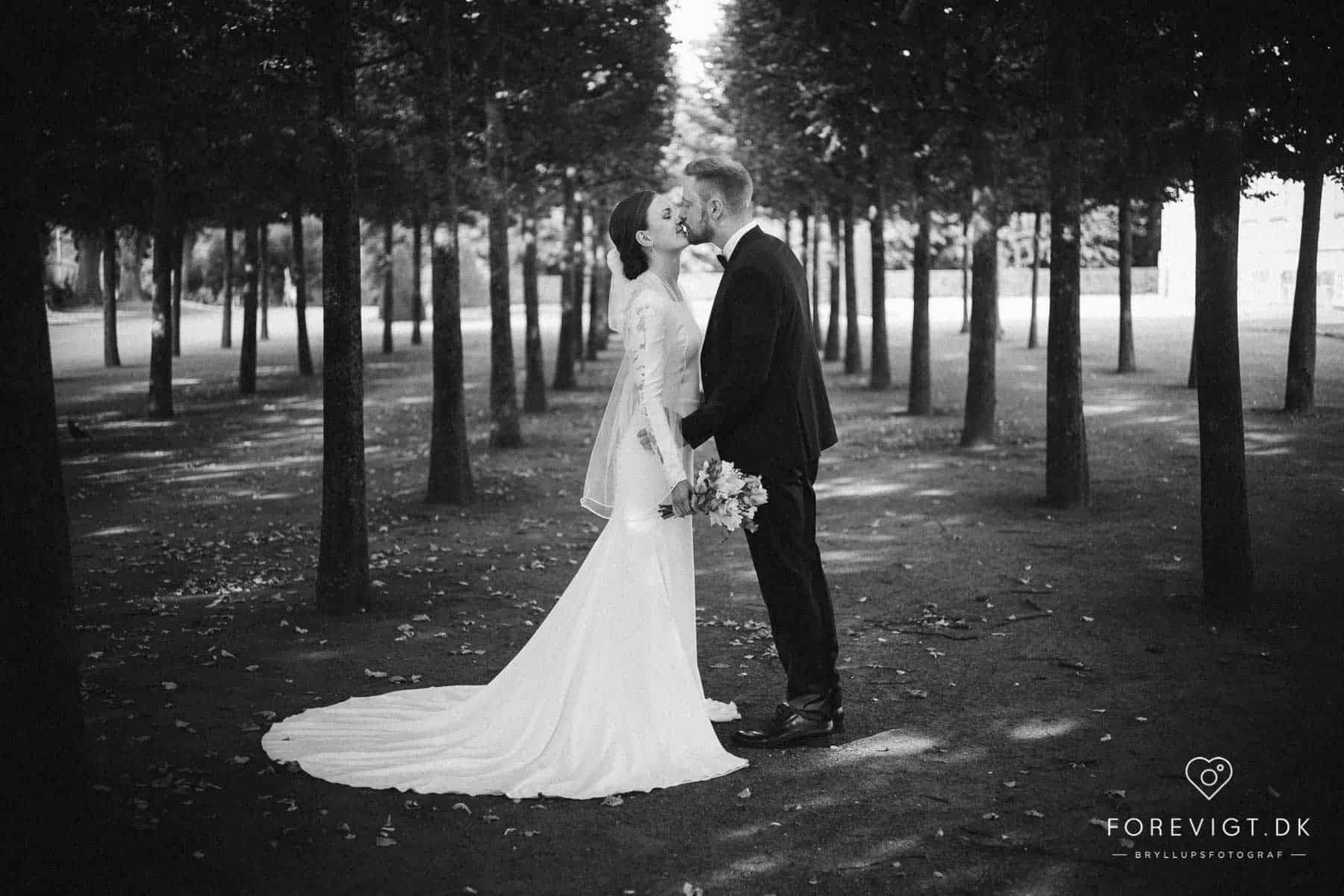 bryllupsfotografi Frederiksberg Have