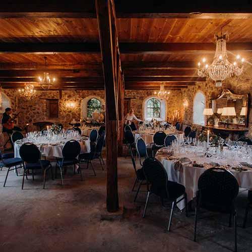 bryllupsfest detaljer