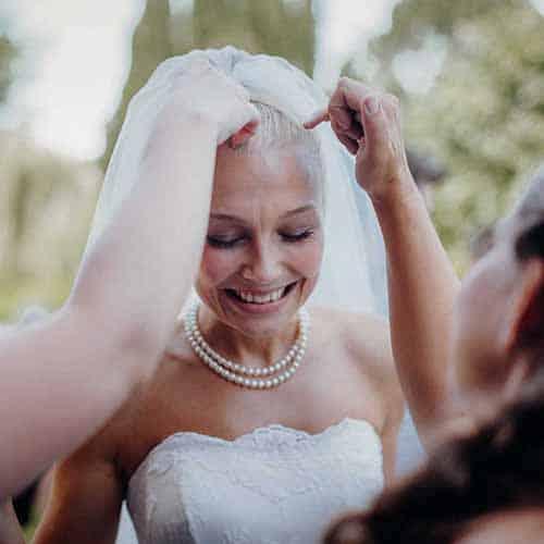 detaljer fra et bryllup