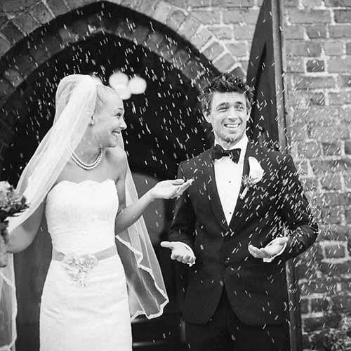 officielle bryllupsbilleder