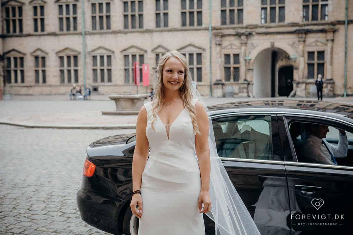 Bryllupsfest på Kronborg Slot.