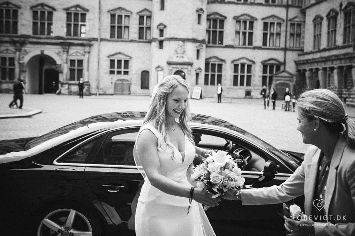 Bryllup og bryllupsfest på Kronborg - Kronborg Slot