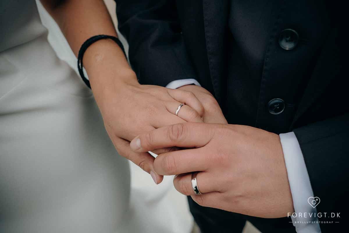 bryllup i naturen sjælland