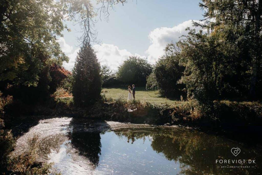 Billeder af bryllup lade