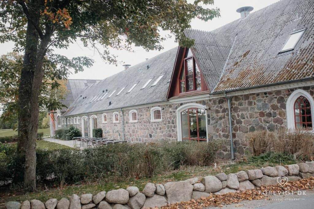 Sonnerupgaard Gods - Overdådigt ladebryllup