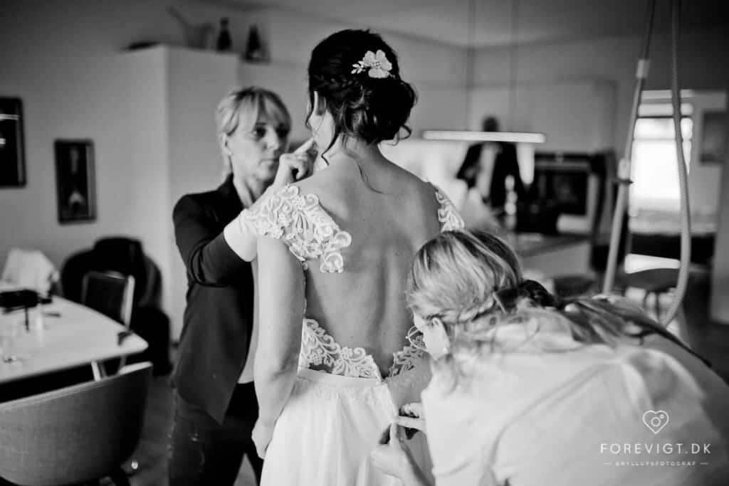 Hotel og kro-bryllup på Sjælland